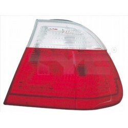 LAMPA TYŁ BMW 3 E46 98- LEWA ZEW/BIA/4D/ 63218383821
